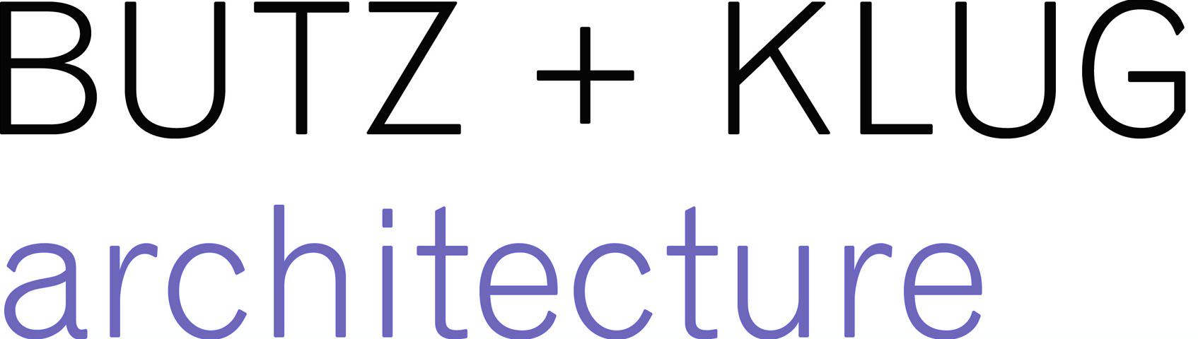 BUTZ and KLUG Architecture