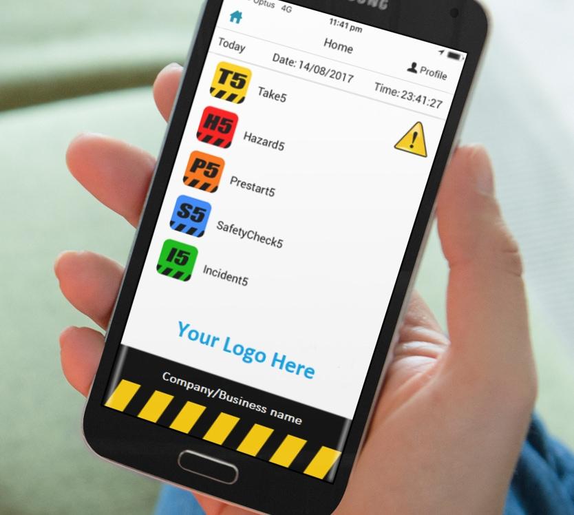Main Screen App Screenshot