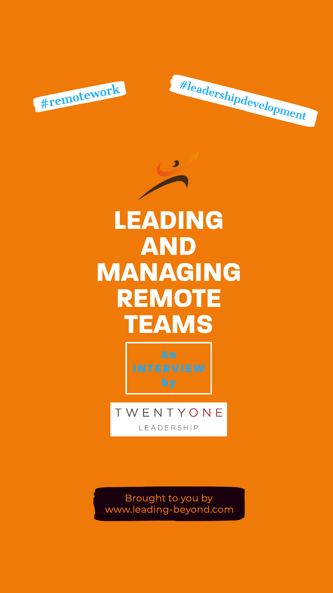 Leading and Managing Remote Teams Interview