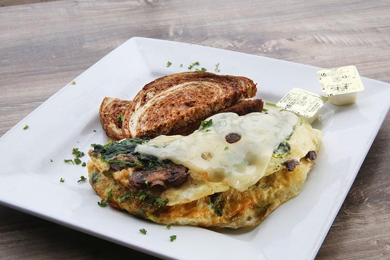 Lean & Green Omelette