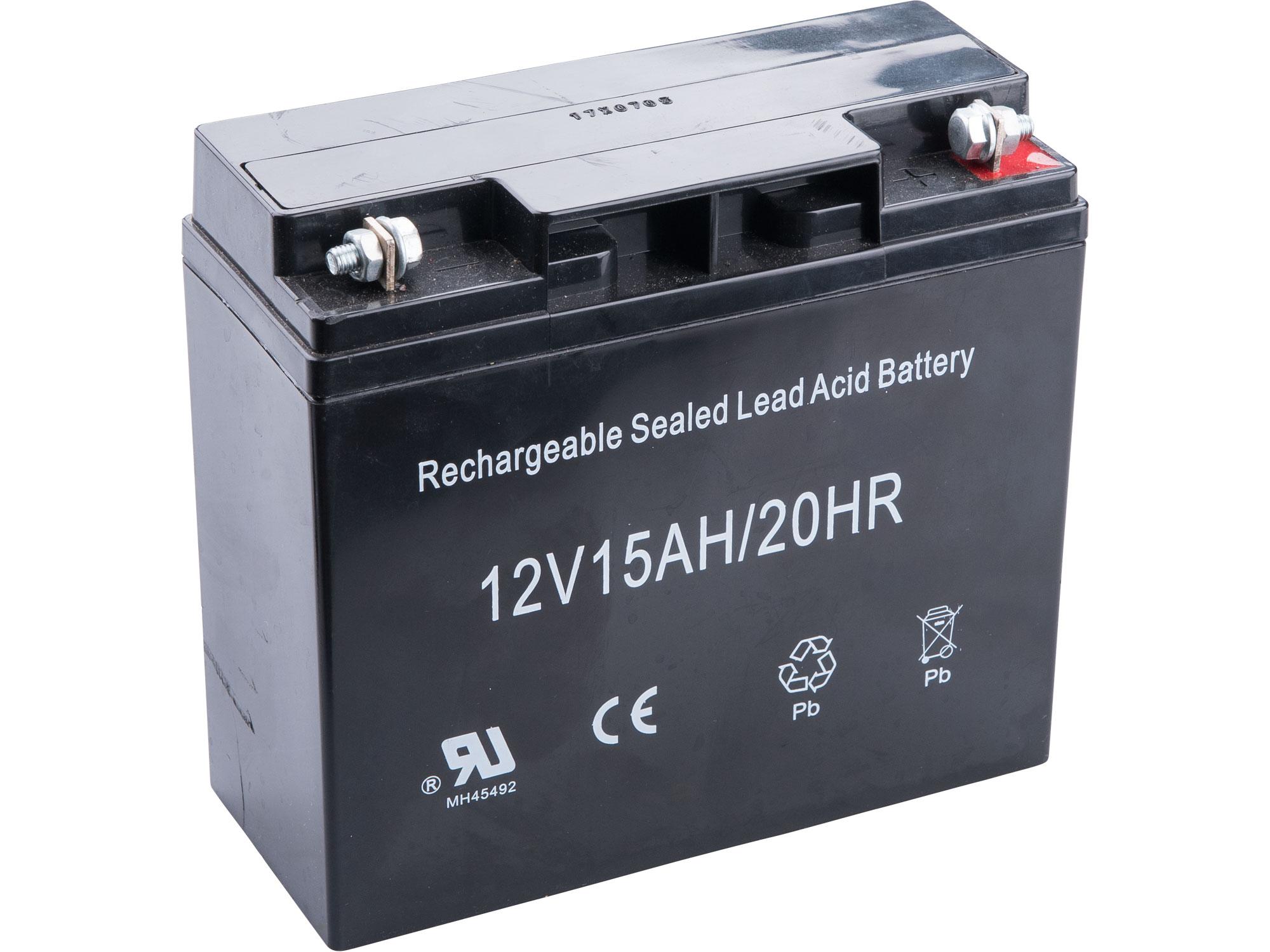 akumulátor pro elektrický start, GEL 12V, 15Ah