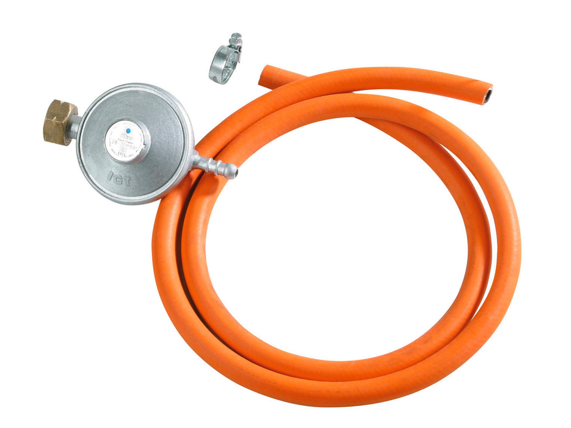 regulátor tlaku s hadicí, 30mbar (3kPa) s hadicí