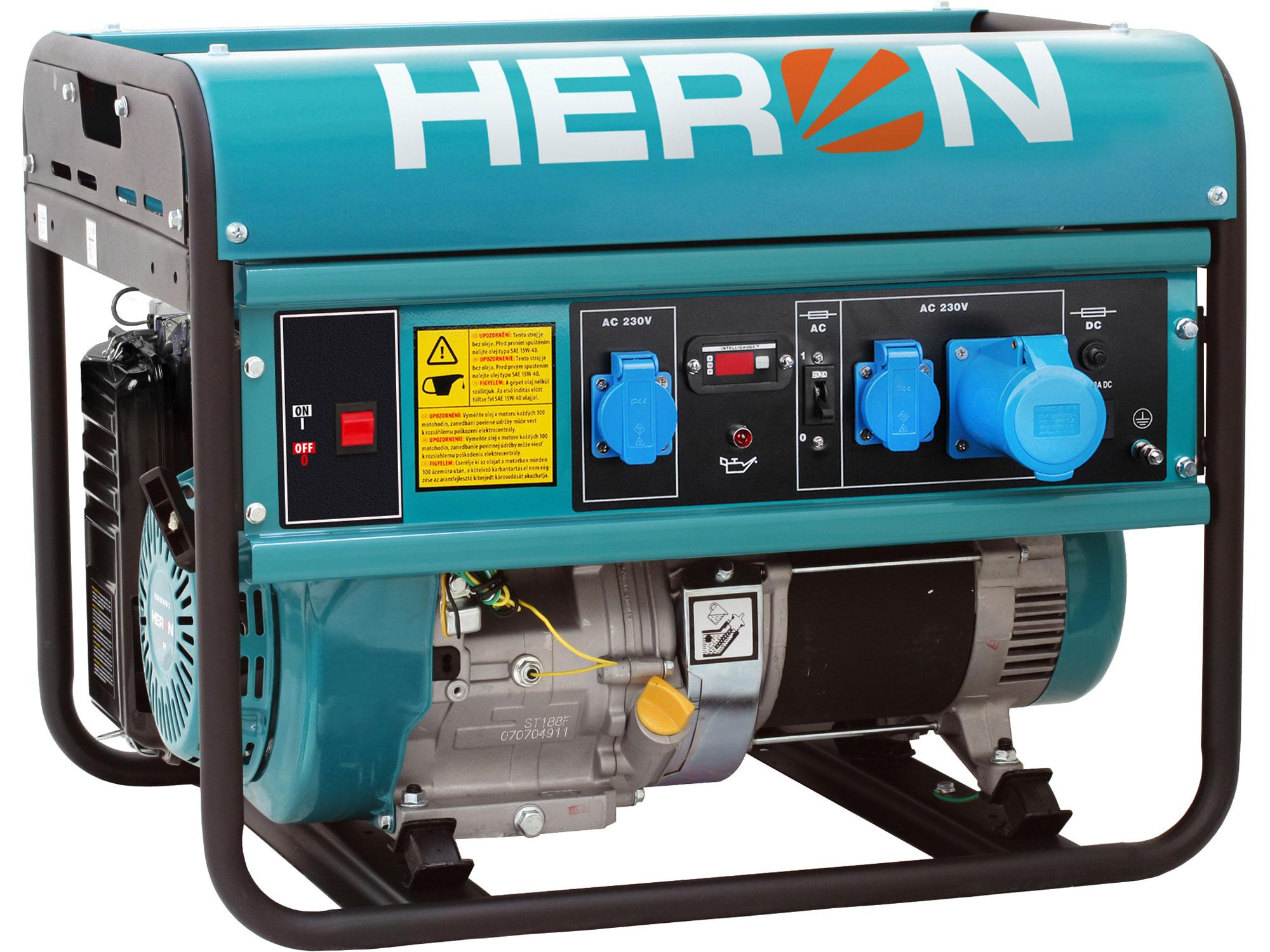 ZRUŠENO! Nahrazeno výrobkem 8896419, elektrocentrála benzínová 15HP/7kW