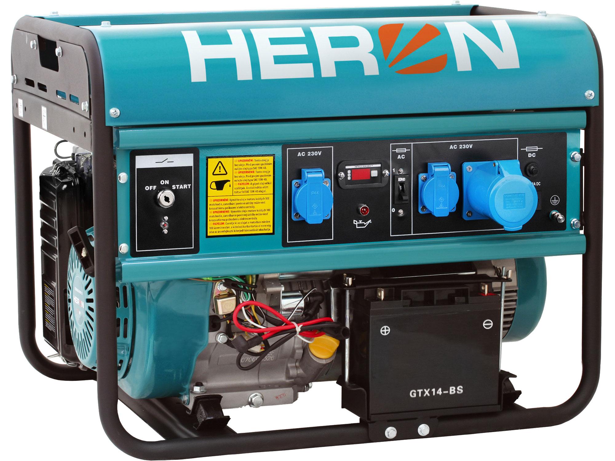 ZRUŠENO! Nahrazeno výrobkem 8896421, elektrocentrála benzínová 15HP/7kW, elektrický start