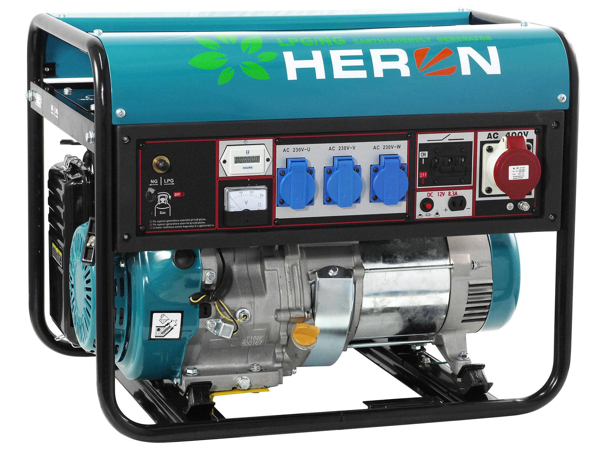 elektrocentrála plynová 11HP (LPG/ NG)
