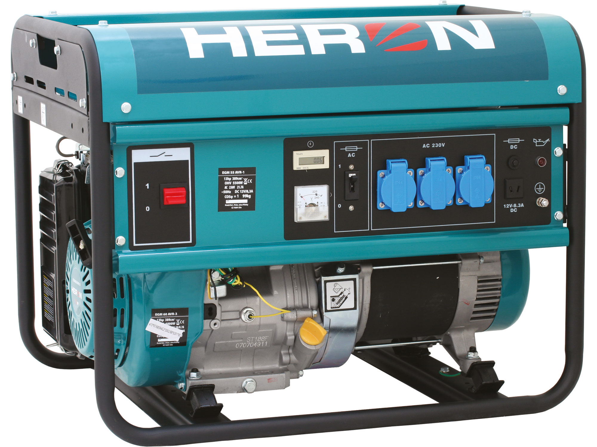ZRUŠENO! Nahrazeno výrobkem 8896413, elektrocentrála benzínová 13HP/5,5kW, pro svařování
