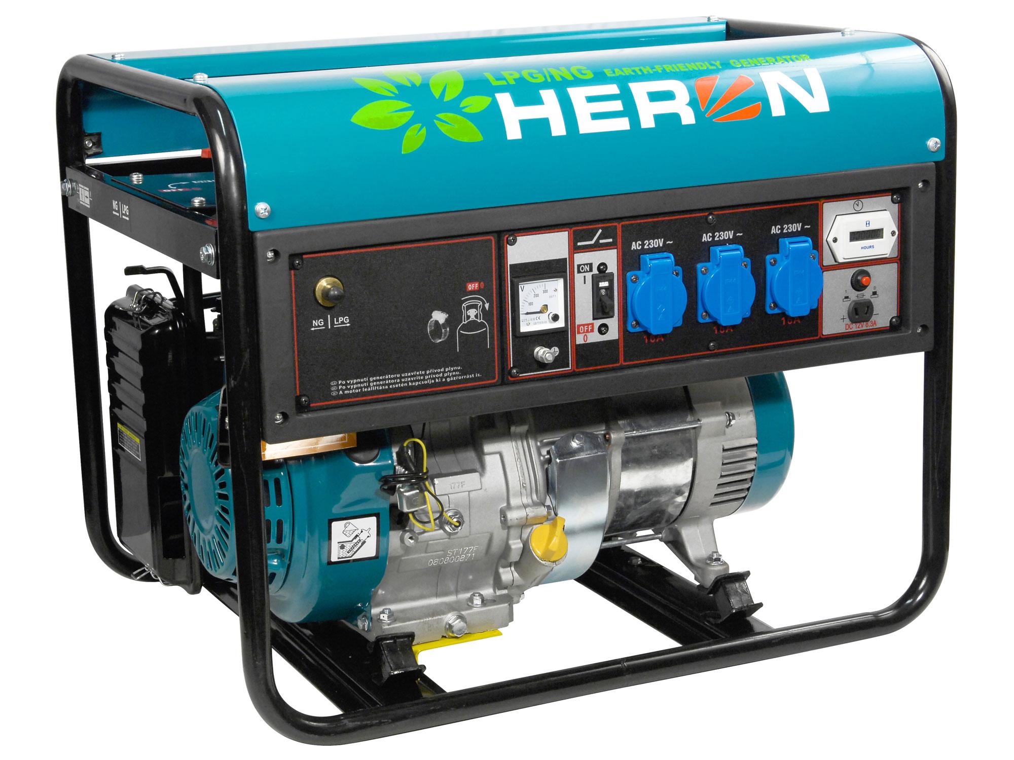 elektrocentrála plynová 7,2HP (LPG/ NG)