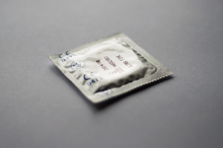 condom in a wrapper