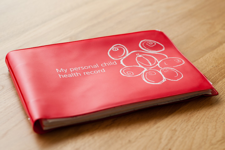 a Red Book - personal child health record