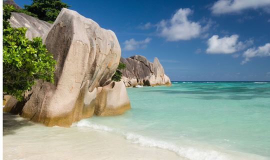 Dr Baxter's photo of a Seychelles beach