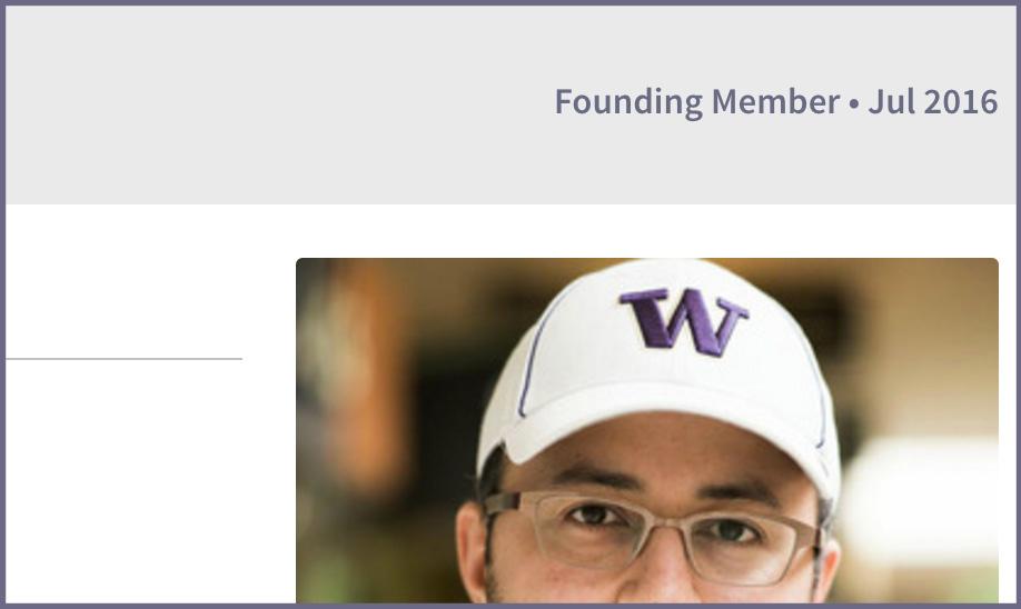 Founding Member Status
