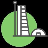 building skyscraper icon