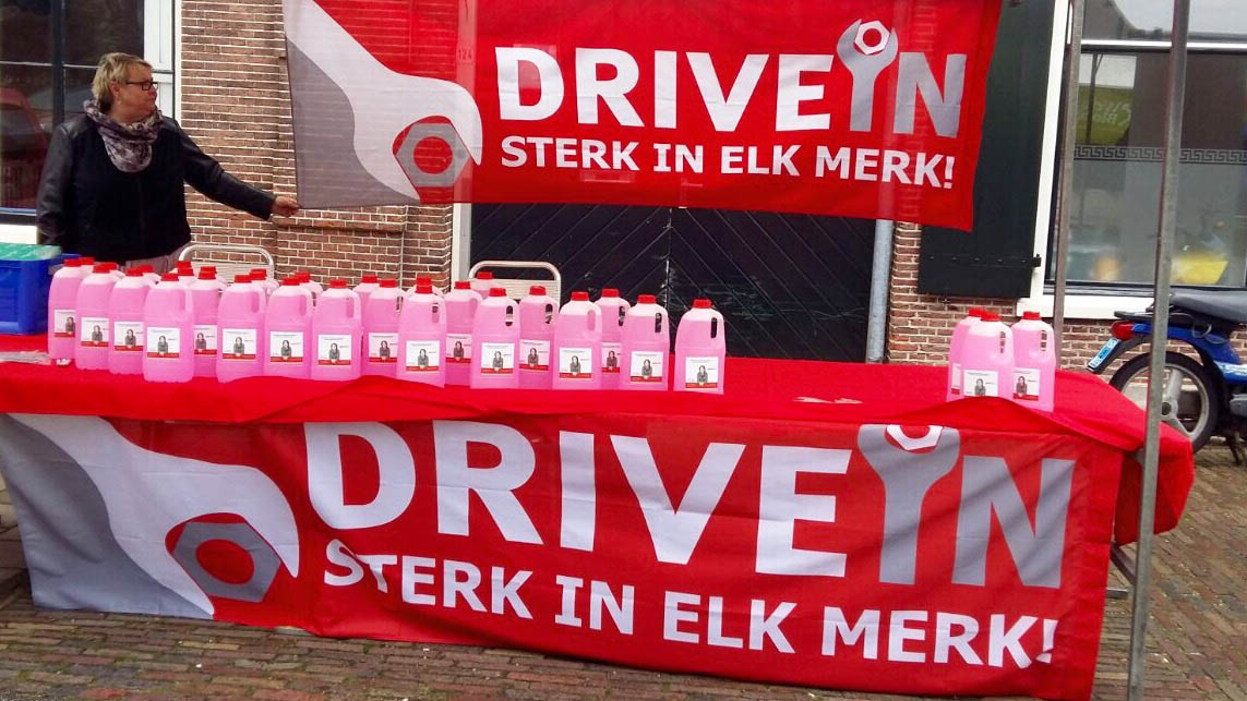 DriveIn Bloemendaal bestaat 5 jaar, en wie jarig is trakteert iedereen van DriveIn!