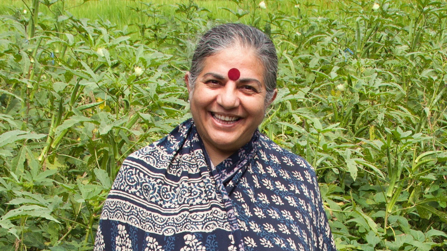 Image of Vandana Shiva.