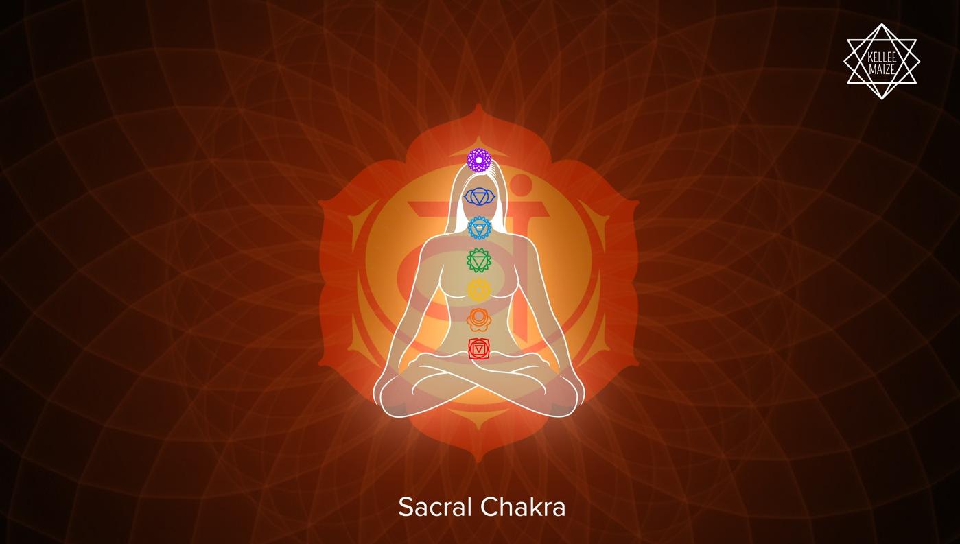 Sacral Chakra Illustration