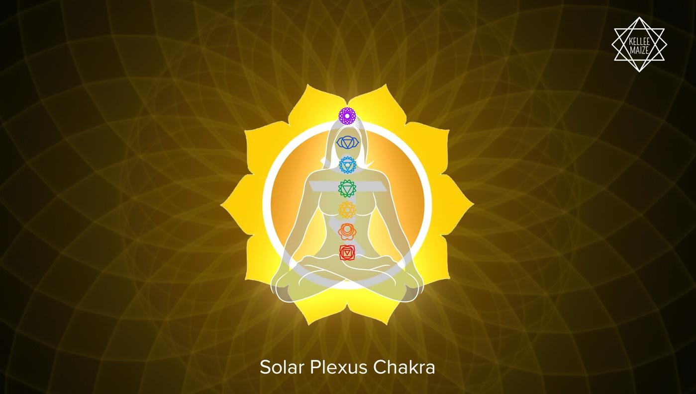 Solar Plexus Chakra Illustration