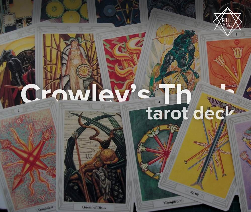 Crowley's Thoth tarot deck