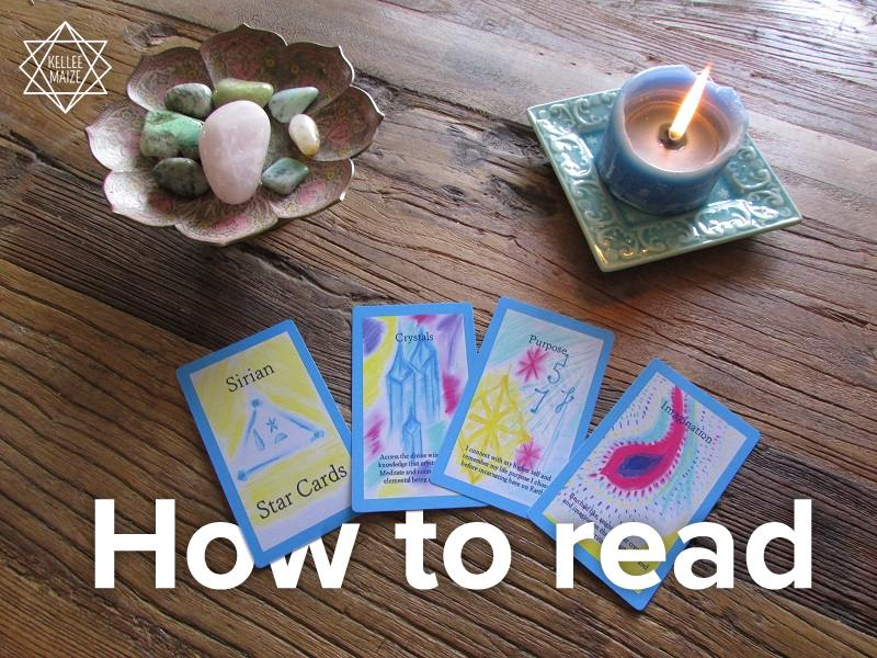Read the oracle cards