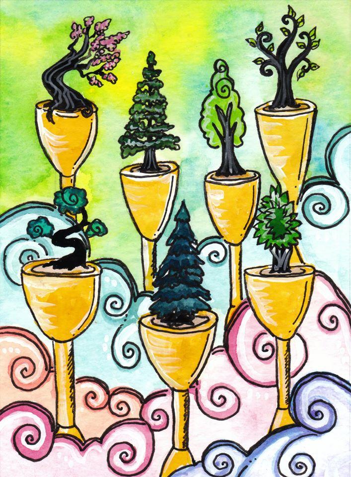 Tarot of Trees.