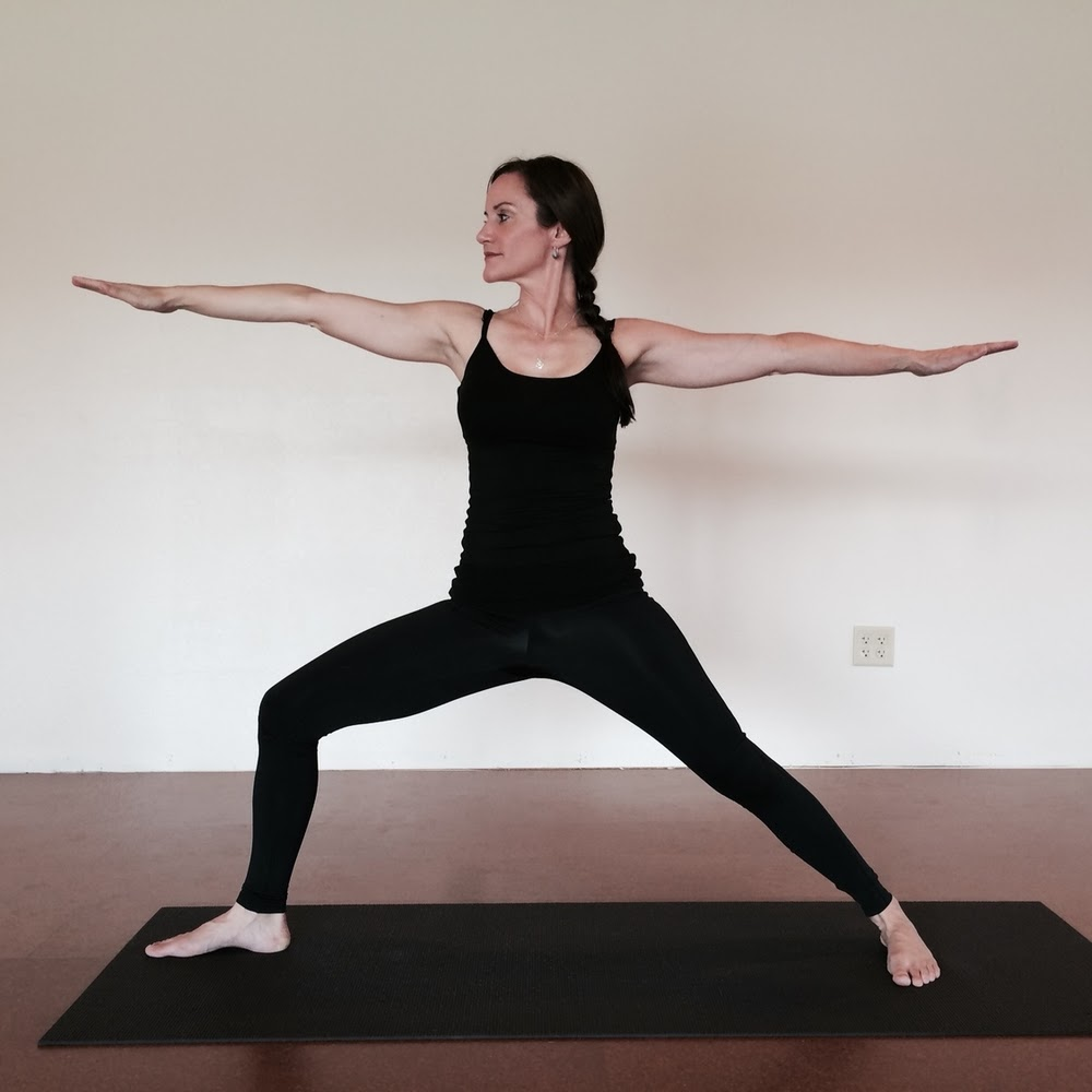 Align: Virabhadrasana II — Yoga with Zoe