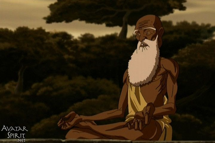 Guru Pathik in Lotus pose