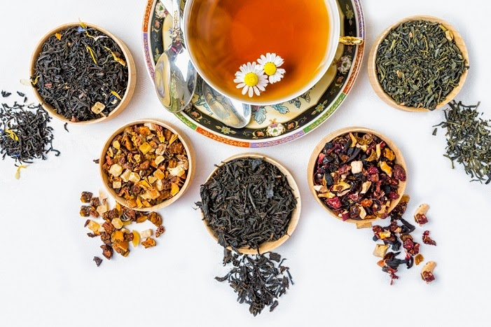 Try the many herbal tea varieties.
