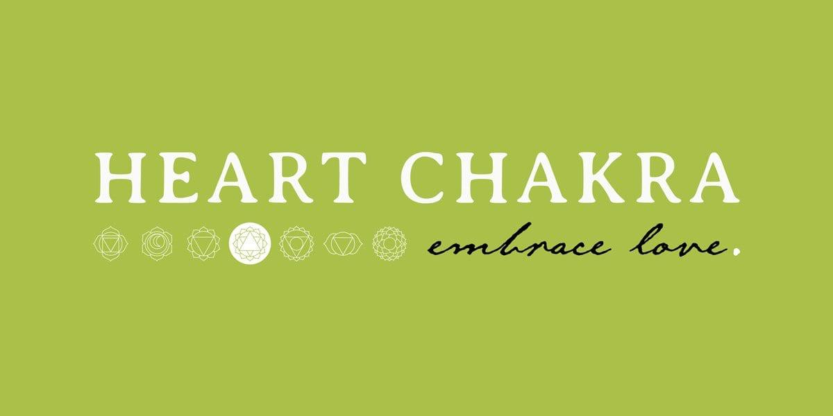 green heart chakra embrace love