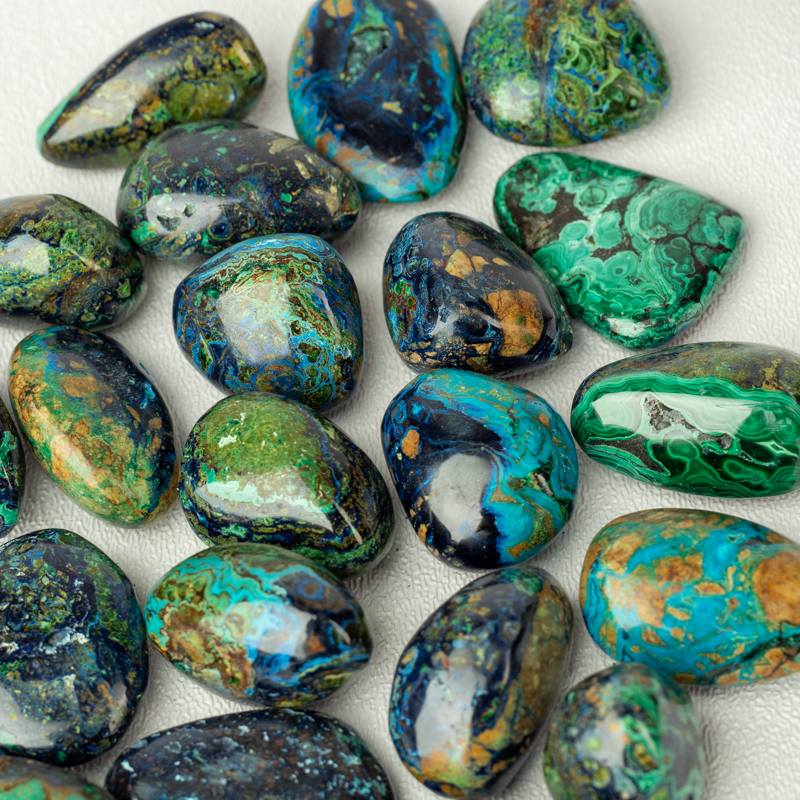 Azurite, a beautiful stone often paired with malachite and ideal for balancing the Third Eye