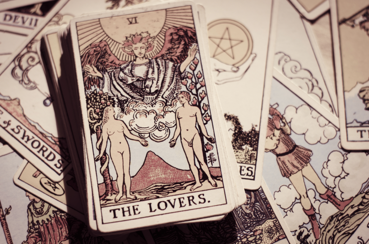 lovers tarot card