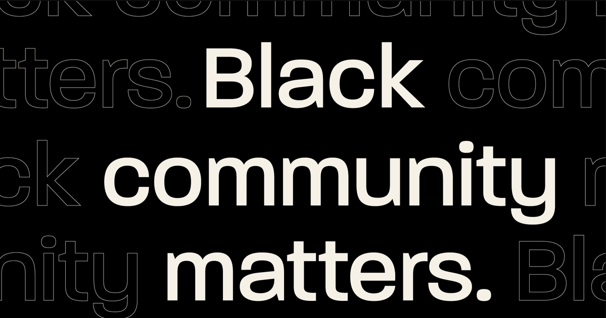 Black community matters in white writing