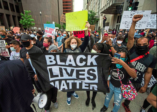 Black Lives Matter protest in Pittsburgh