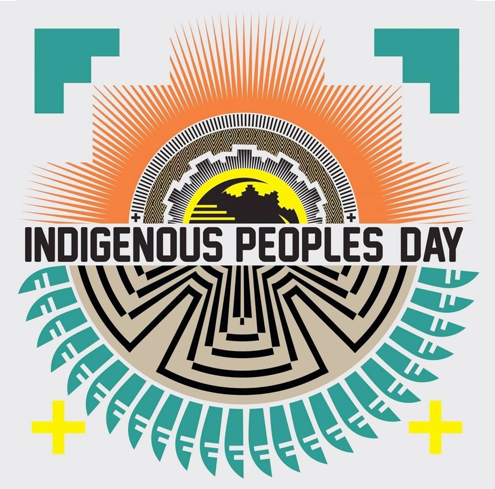 indigenous peoples day graphic
