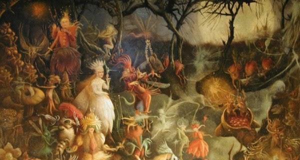 representation of Samhain the Celtic festival