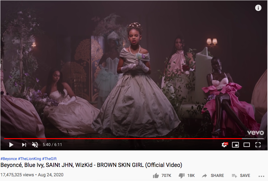 Brown Skin Girl Youtube page