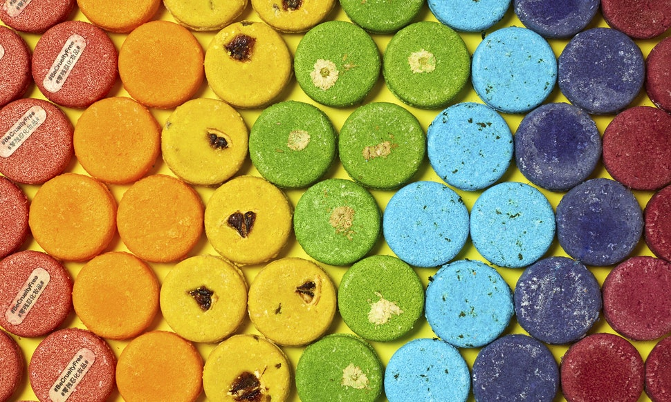Use shampoo bars to avoid adding waste to the environment.