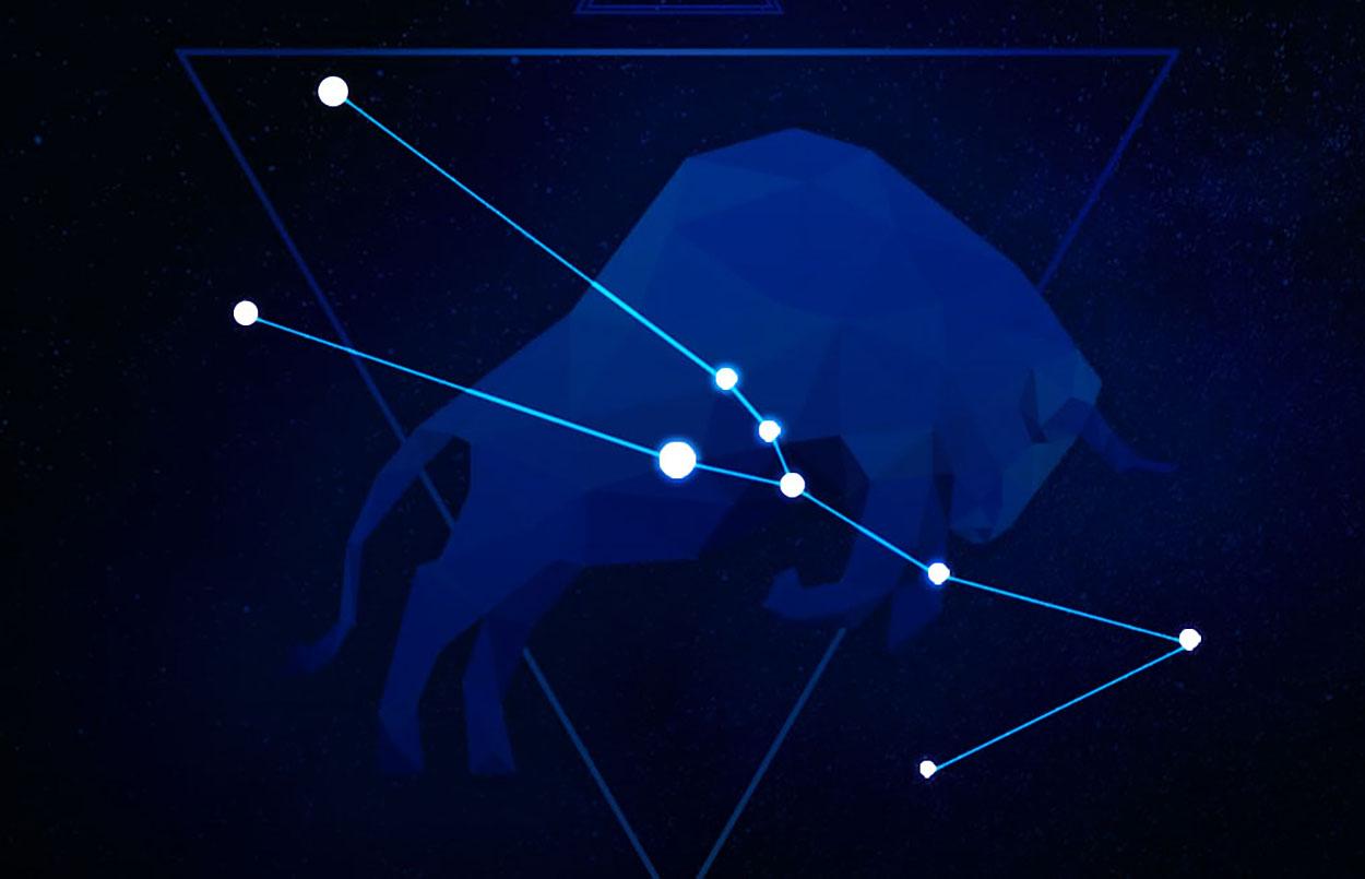 The taurus constellation.