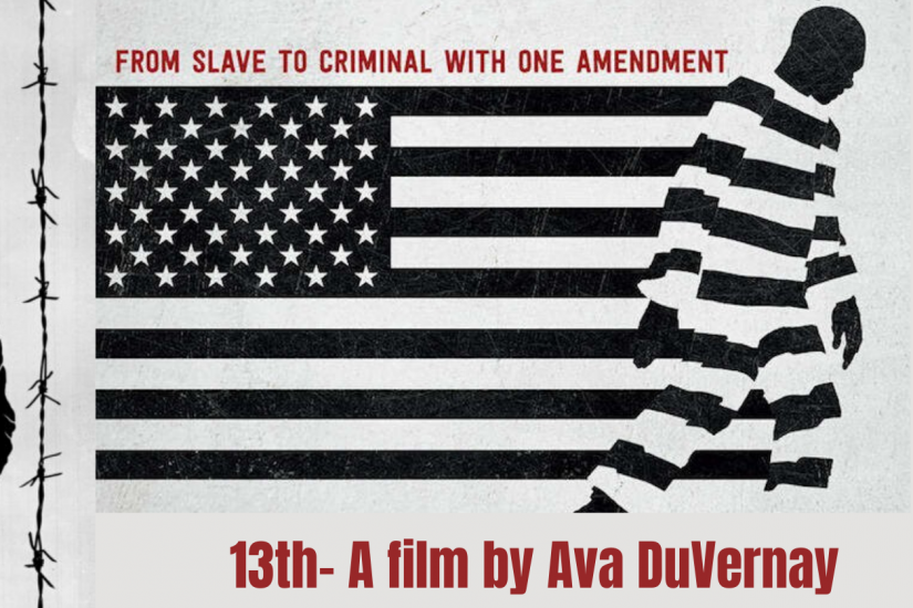 Movie poster for the documentary 13th.