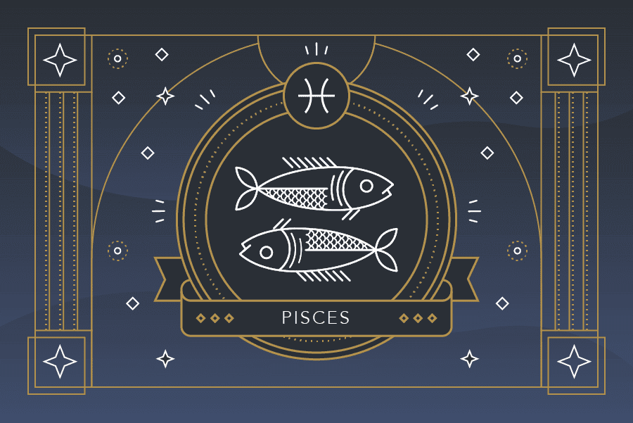 The Zodiac Sign Pisces Symbol - Personality, Strengths, Weaknesses –  Labyrinthos