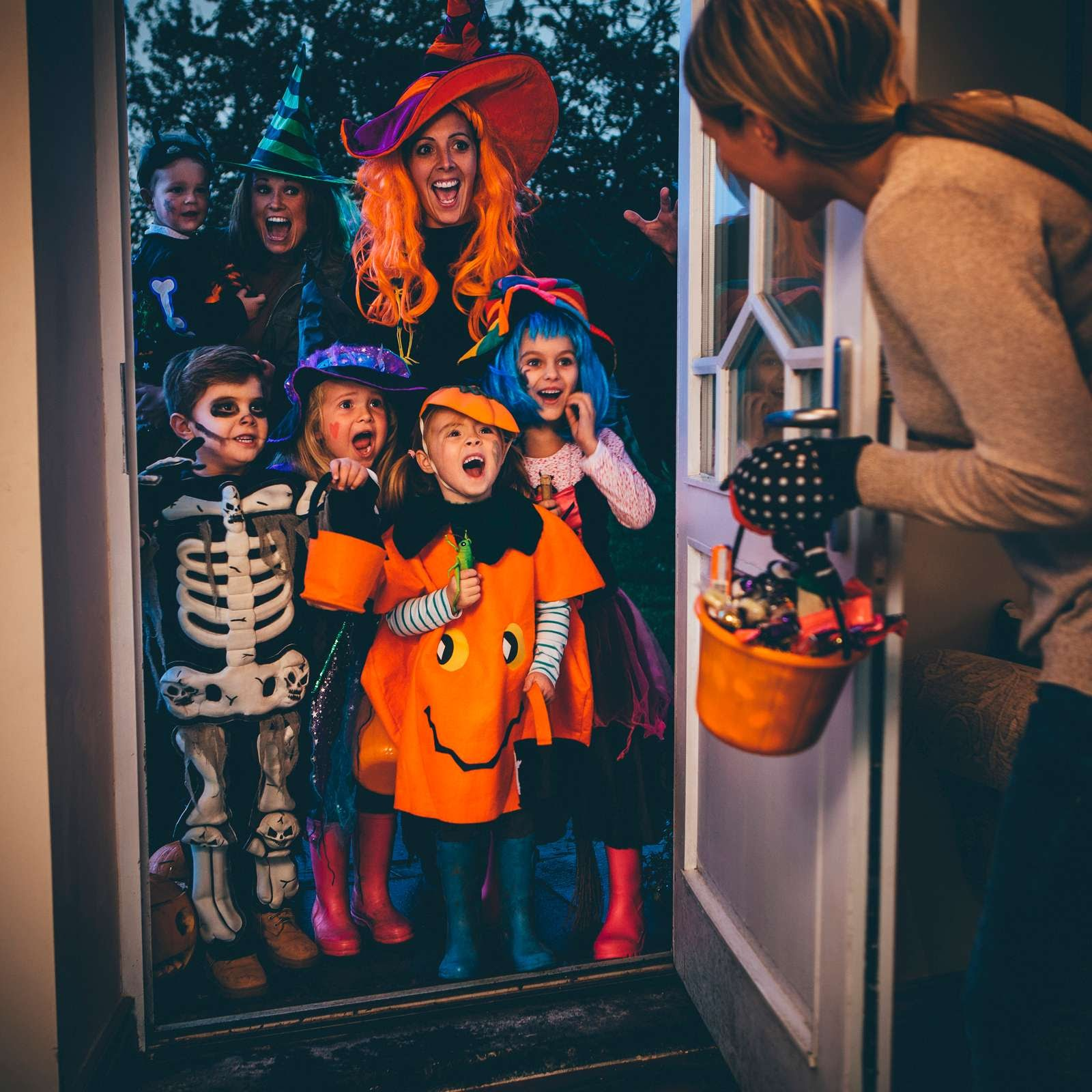 Trick-or-treating for candy has become one of the most popular activities to do on the holiday of Halloween since the '50s. Image courtesy of britannica.com.