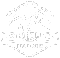 Portfolio logo - Whistler PCOE 2015 - white version