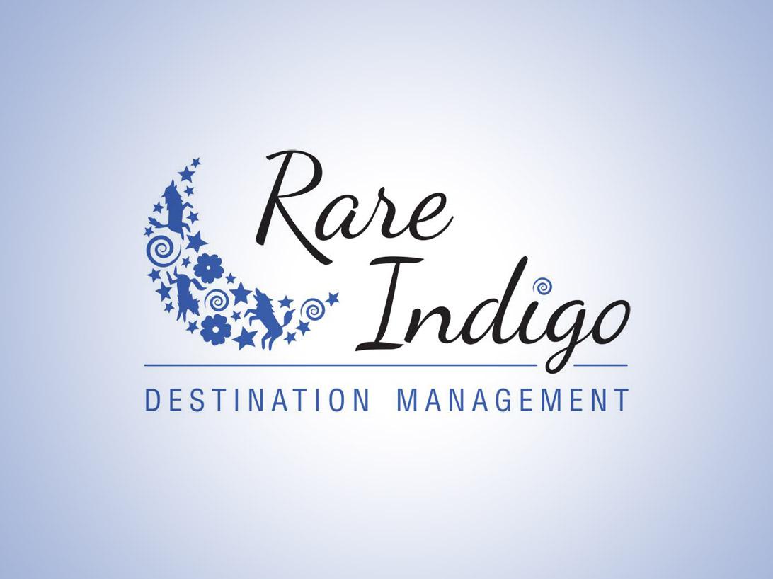 Rare Indigo Destination Management full colour logo
