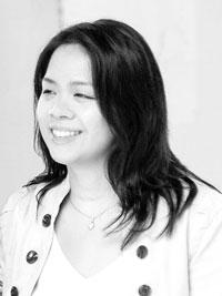 Sharon Chow Greyscale Portrait Photo