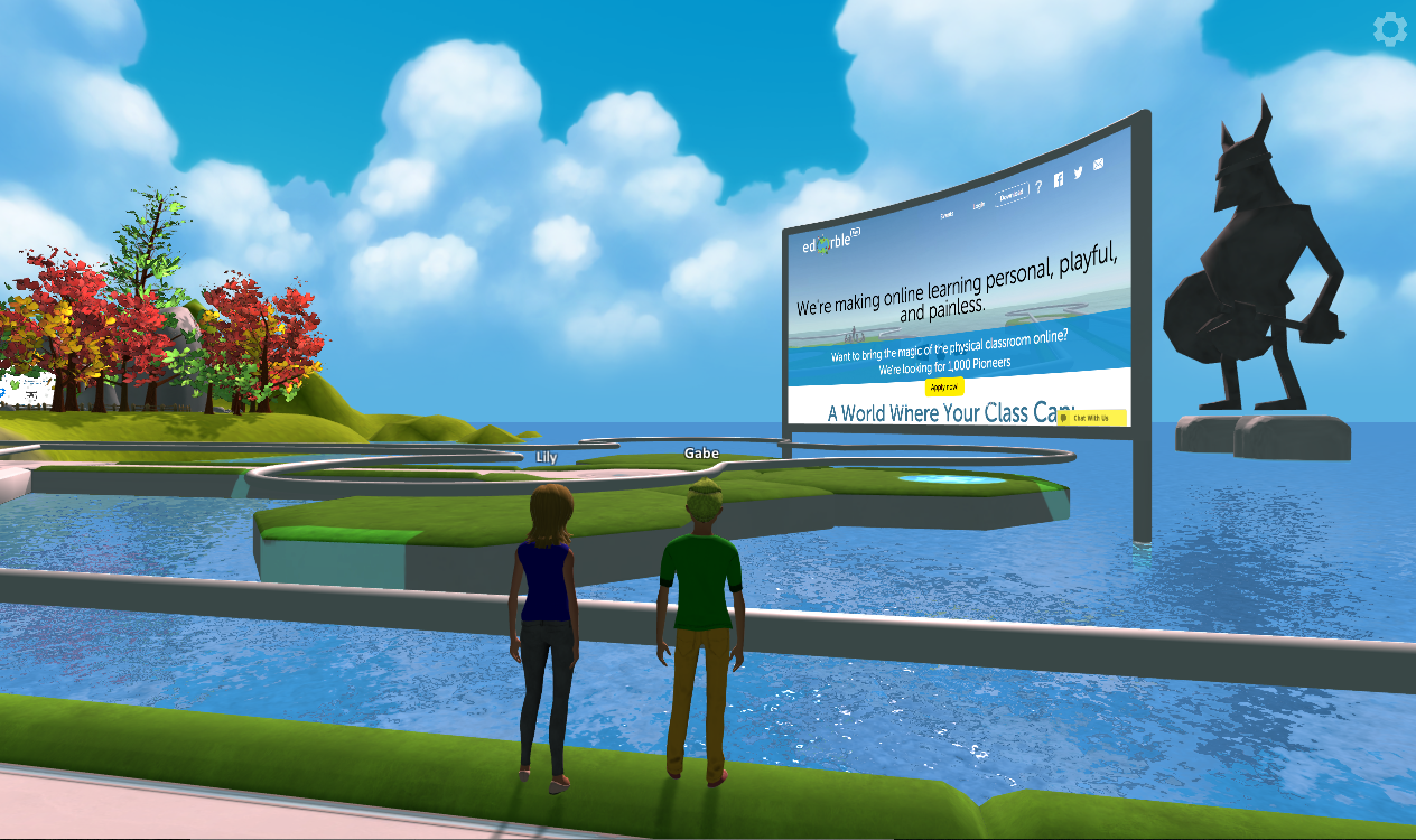 We're Teaching Teachers + Students How to Design 3D/VR Worlds With