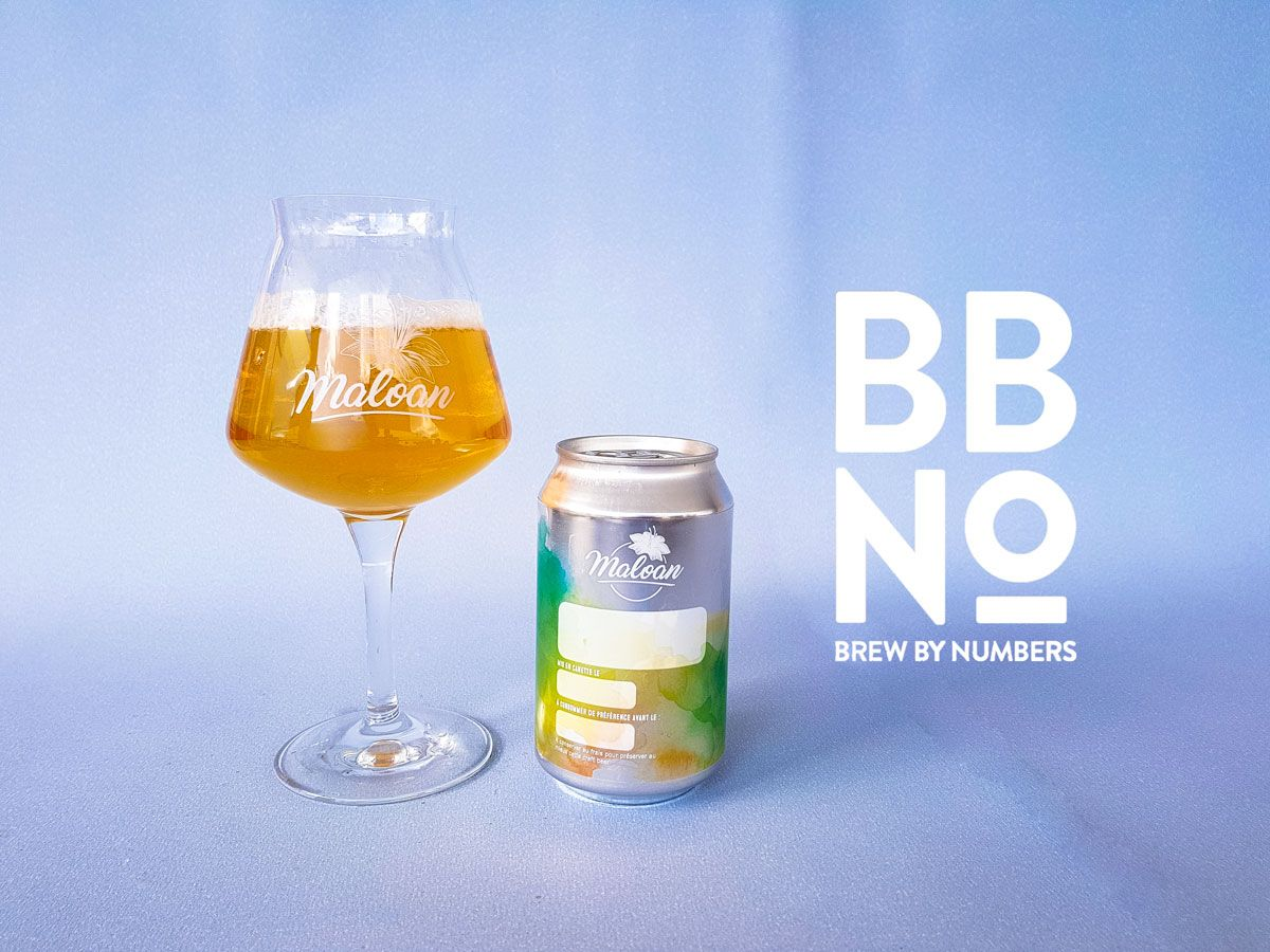 Pale Ale Citra Ekuanot - Brew By Numbers