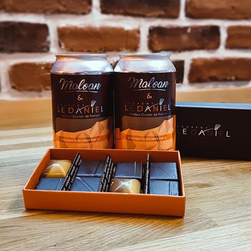 Coffret de chocolats & Craft Beer