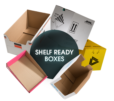 CORRUGATED Shelf Ready Boxes