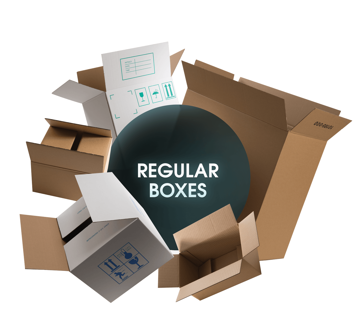 CORRUGATED Regular Boxes