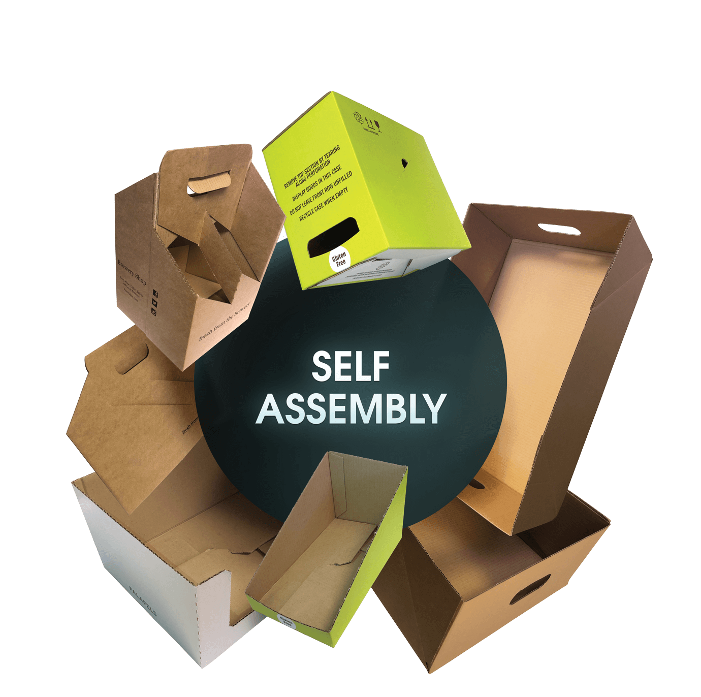 CORRUGATED Self Assembly