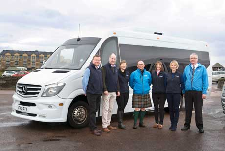 Luxury Scottish Tours with Drumscot's private transport and guides