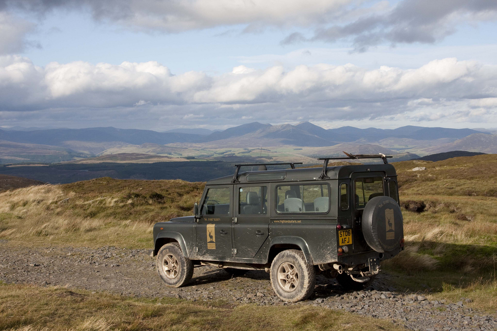 Highland Safaris, Aberfeldy have fantastic 5 star activities including Land Rover safaris, red deer centre, biking, gold panning and more ,